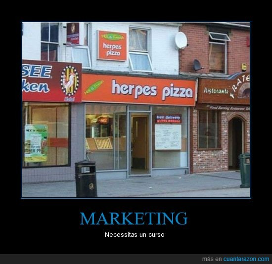 herpes,marketing,pizza