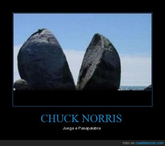 Chuck Norris,Pasapalabra