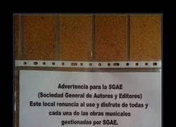 Enlace a SGAE