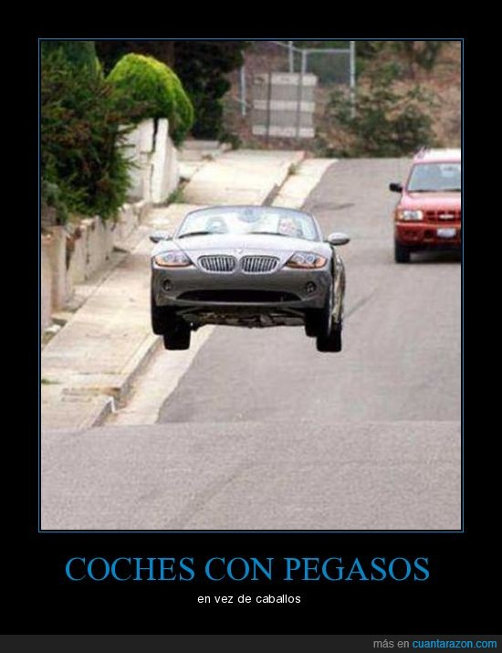 caballos,coche,pegasos,salto