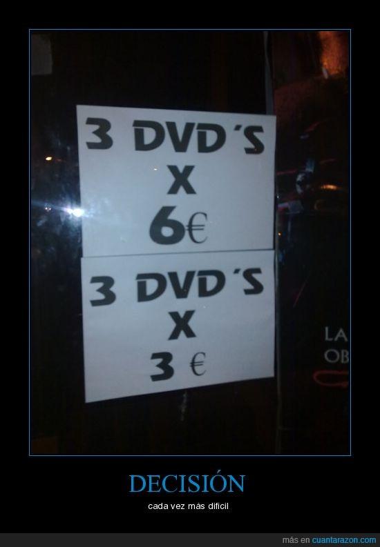 cartel,dinero,dvd,oferton