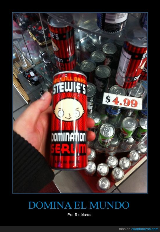 bebida,dominar,mundo,stewie