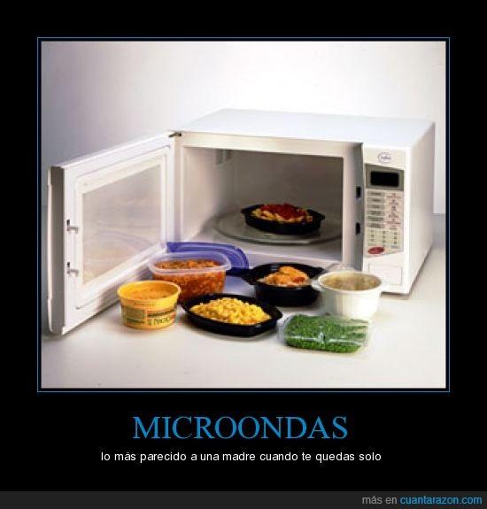 calentar,madre,microondas