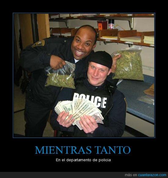 drogas,mientras tanto,policías,soborno