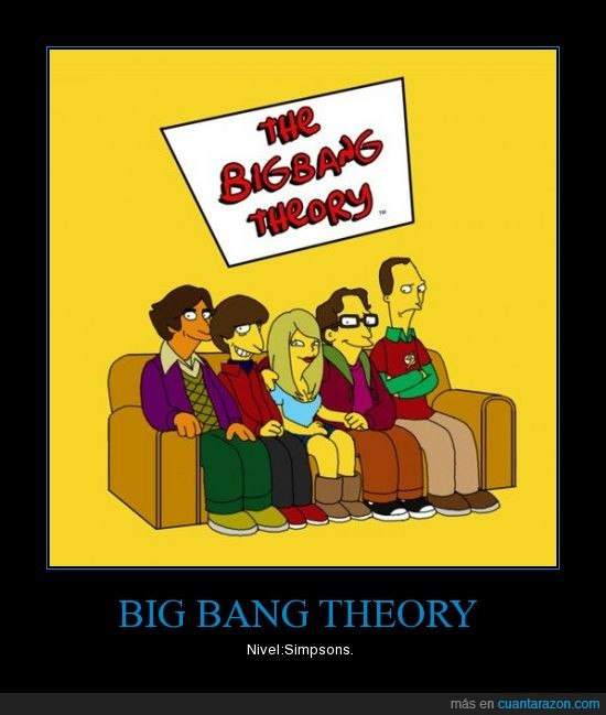 big bang theory,frikis,sheldon,simpson