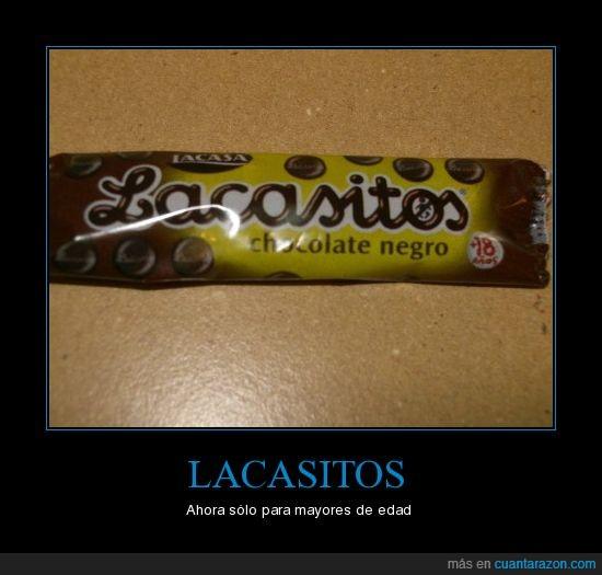 chocolate,lacasitos