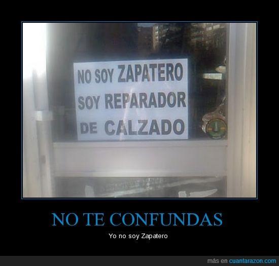 calzado,cartel,reparador,Zapatero