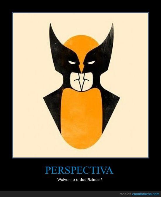 batman,perspectiva,wolverine