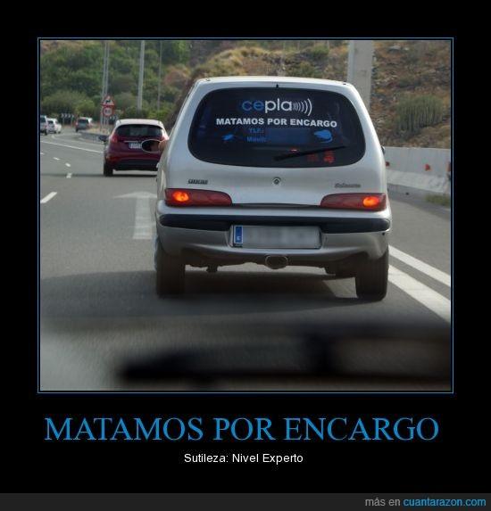 coche,matar