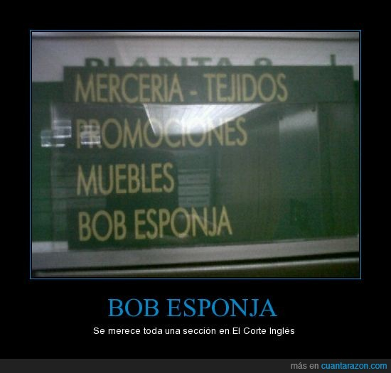 Bob esponja,cartel,lol,niños