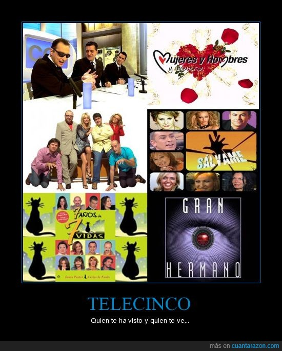Telecinco,Visto