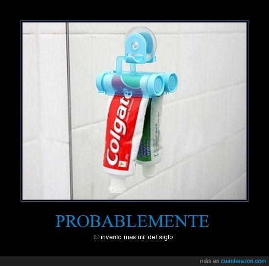 invento pasta de dientes