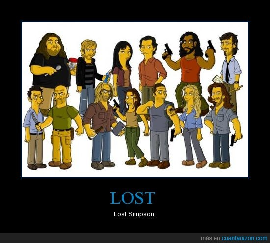lost,serie,simpson,television
