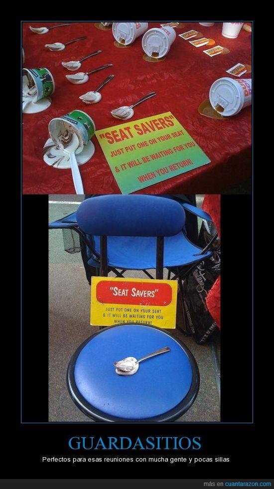 café,comida,cuchara,curioso,guardasitios,helado,invento,ketchup,original,poco,reunión,silla,sitio,suciedad,sucio