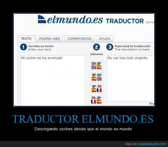 elmundo,idioma,ingles,Traductor
