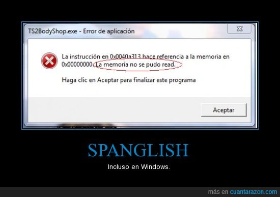 fail,spanglish,windows