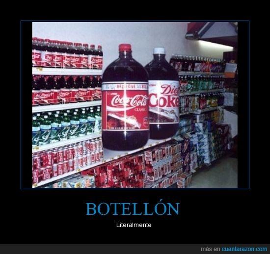 botella,coca cola