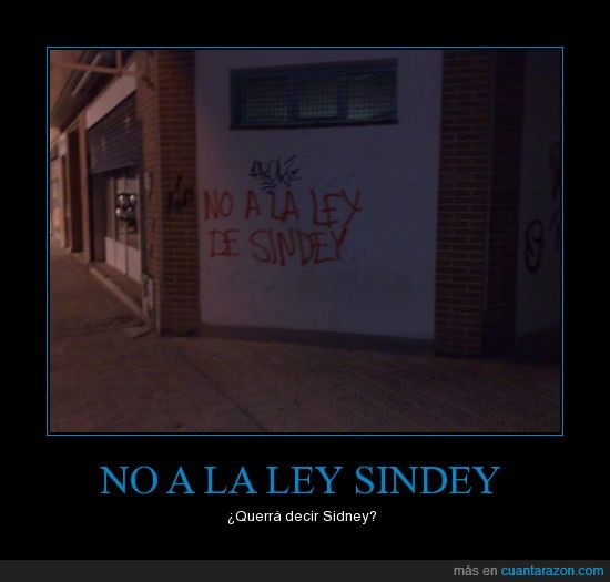 no a la ley sinde,sidney
