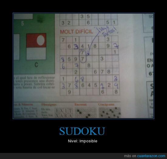 imposible,sudoku