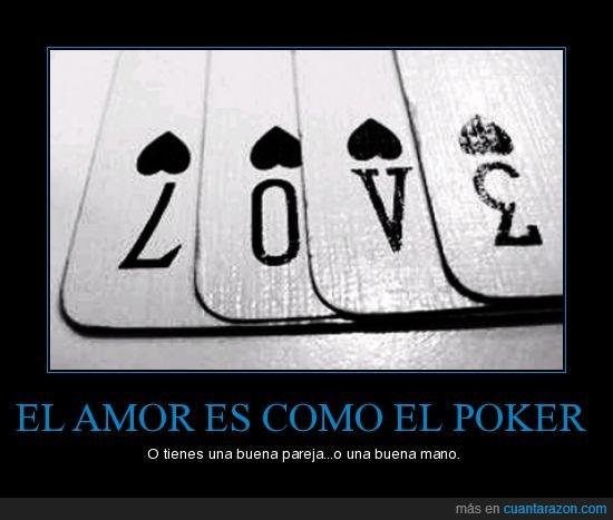 amor,poker