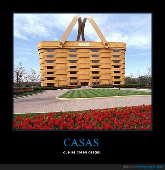 casa,cesta