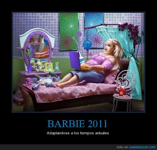 barbie,obesa,presente
