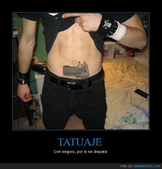 pistola,tattoo