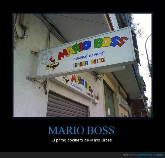 boss,bross,cocinero,mario,plagio