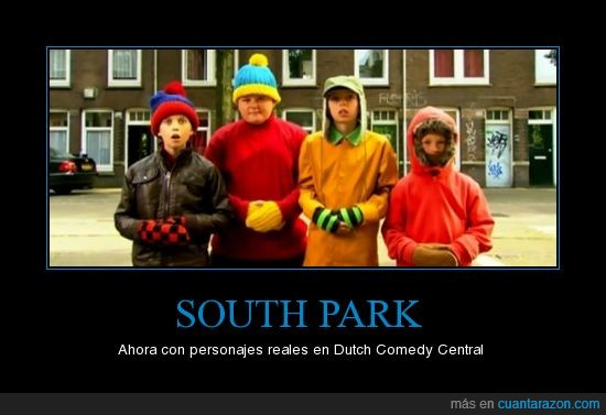south park niños real