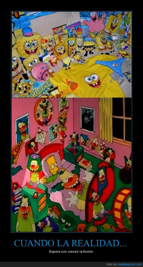bob esponja,ficcion,Krusty,marketing,realdiad