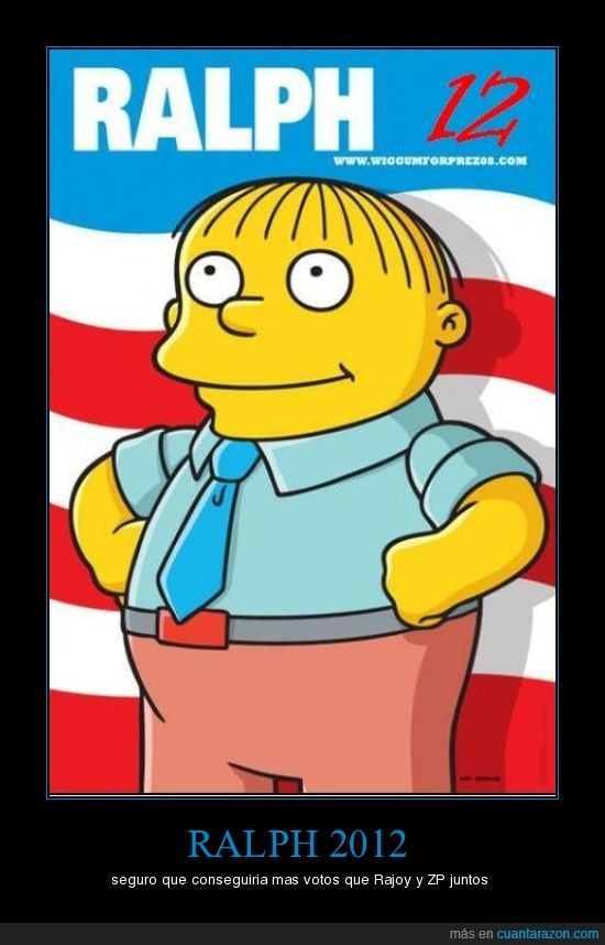 presidente,ralph,simpsons