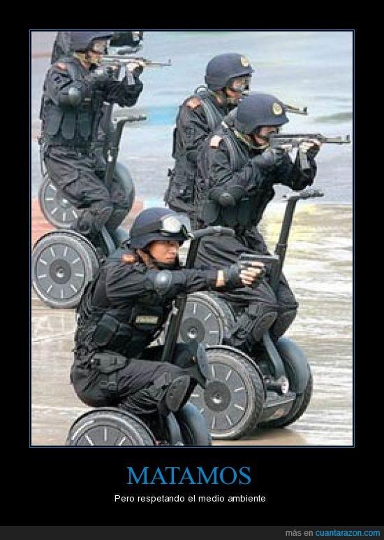 china,segway,soldados