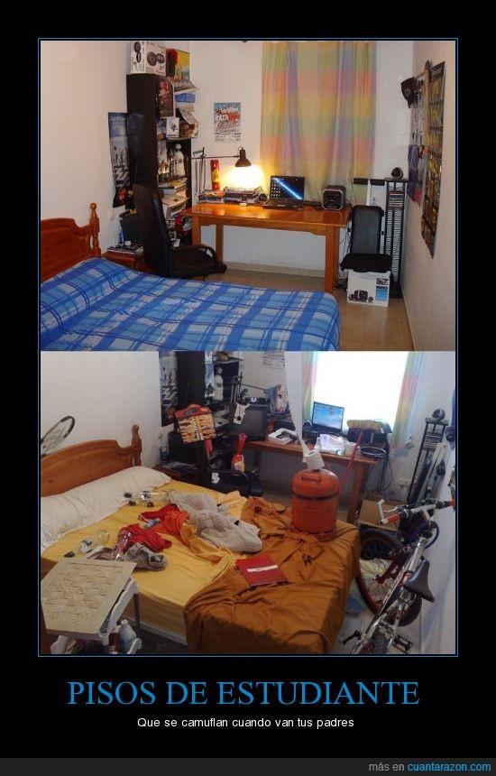 camuflar,estudiante,padres,pisos