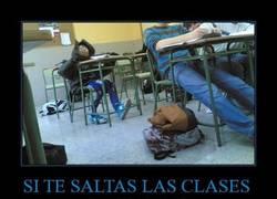 Enlace a SI TE SALTAS LAS CLASES