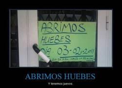Enlace a ABRIMOS HUEBES