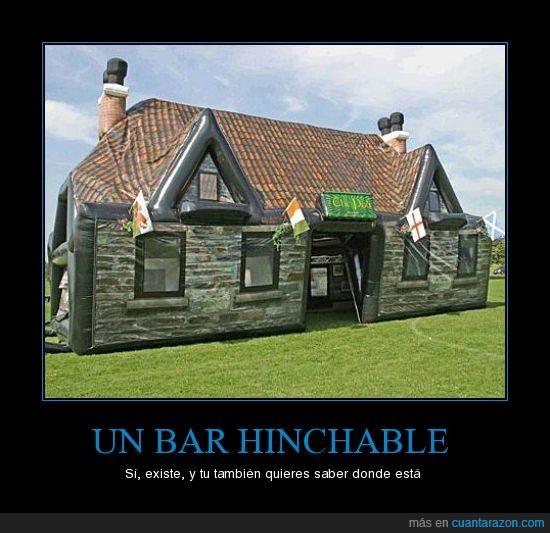 bar hinchable