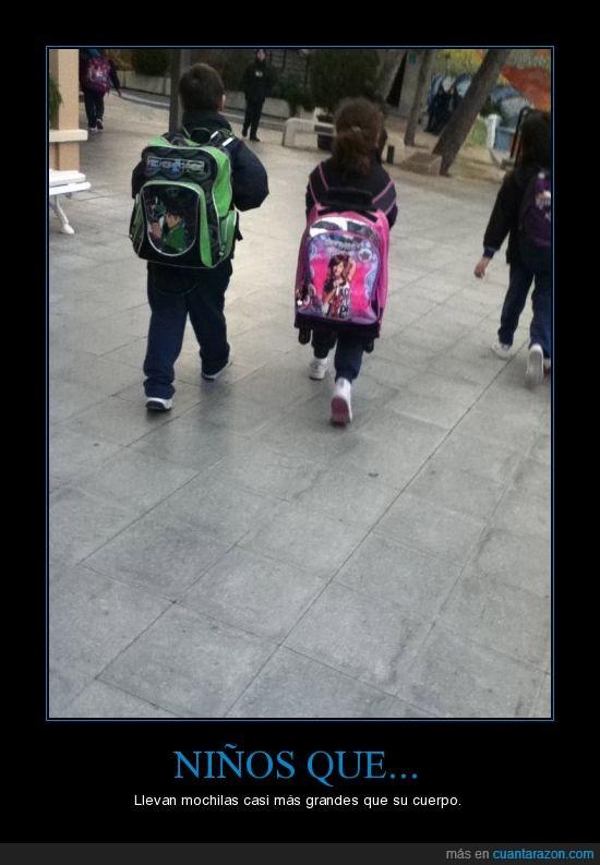 mochila,movil,Niños
