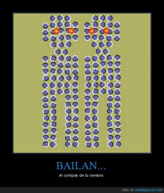 bailar,cerebro,ilusión óptica
