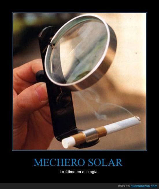lupa,mechero,solar