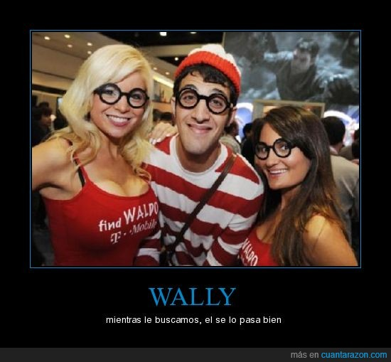 amigo,disfrutar,wally