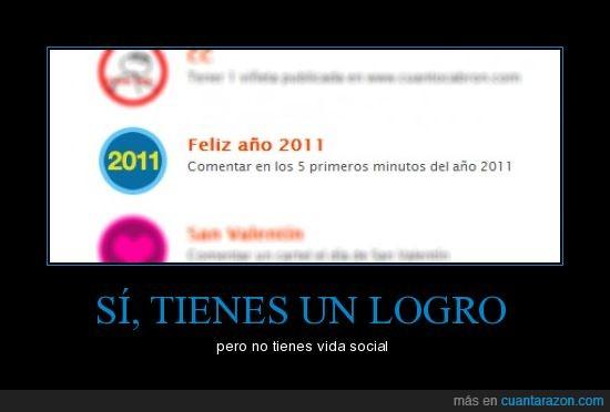 2011,logro,vida social