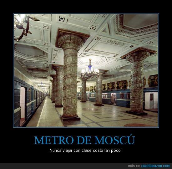 1950,Arte,Metro,Moscú,Rusia