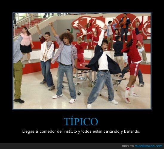 Baile,high school musical,Típico