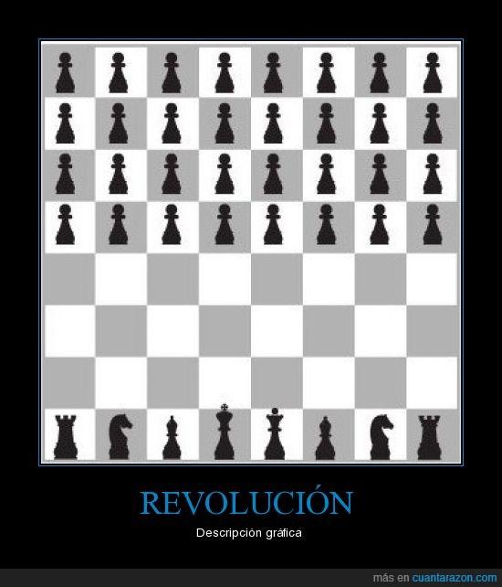 ajedrez,revolución