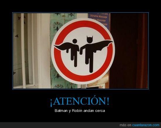 batman,robin,señales