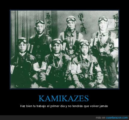 guerra mundial,japoneses,kamikaze