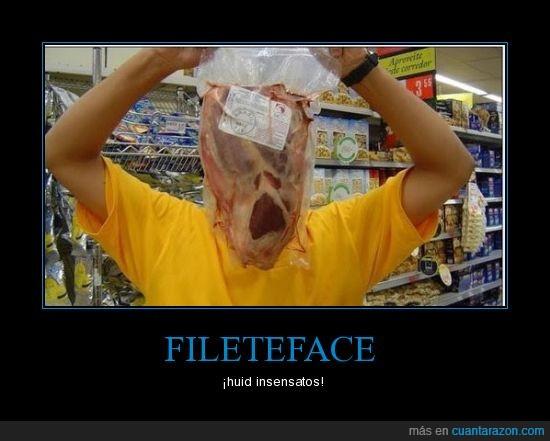 cara,filete,monstruo,supermercado
