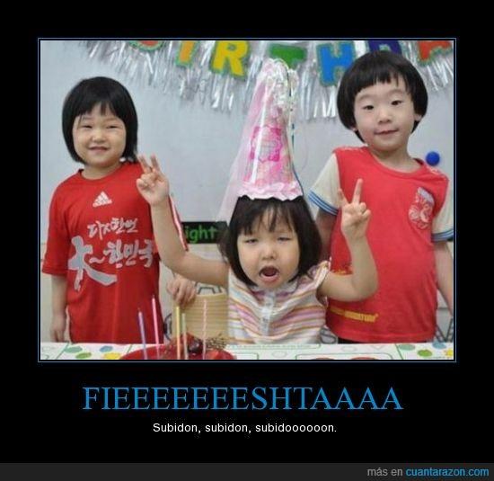 asiaticos,fieshta,fiesta,Subidon