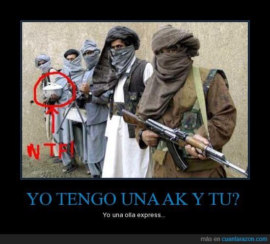 armas,guerra,olla,talibanes