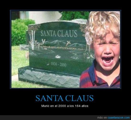 llorar,niño,santa claus